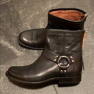 FRYE Heirloom Harness Back Zip Boot